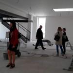 Prostory knihovny Zubri v centru pri rekonstrukci Duben 2016 0010