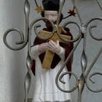 Svatý Jan Nepomucký v kapličce u Pavlátů