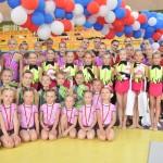 Společné foto gymnastek TJ Gumárny Zubří