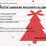Vánoční Jarmark misijního klubka