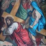 3 JEŽÍŠ PADÁ POD KŘÍŽEM POPRVÉ