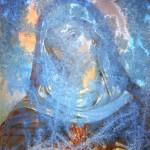 Zamrzlý obrázek pod Obecníkem v Zubří