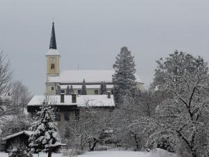 Zuberský kostel 1