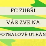 FC ZUBŘÍ ZVE NA FOTBAL