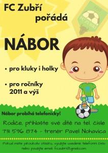 NÁBOR MALYCH_ FC zubří