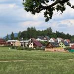 Nové domy na Hůrce