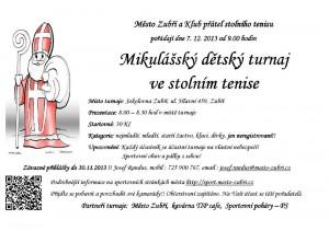 Mikulášksý turnaj ve stlním tenise 2013
