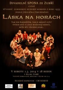 Plakát Láska na horách 2014