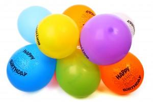 Balonky k narozeninám