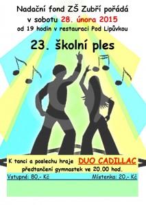 23 školní ples  v Zubří