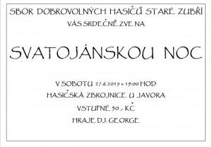 Svatojánská noc 2015