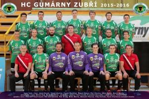 Tým HC Zubří 2015-2016