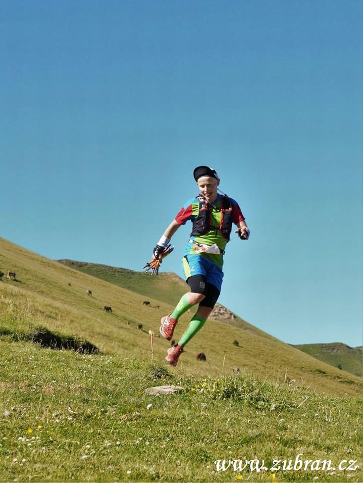 Tomáš Štverák uběhl 180 kilometrů přes vrcholky Beskyd