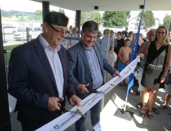 Slavnostní otevření nového multifunkčního areálu