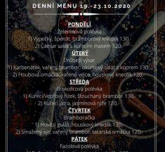Obědové meníčko Hala bar&restaurace