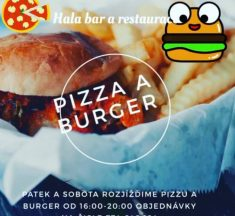 Burger a pizza víkend v HALE