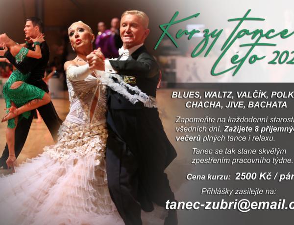 Prázdninový kurz tance v Zubří