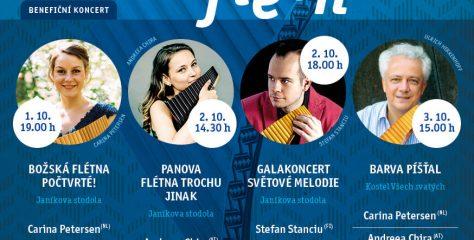 Pozvánka na hudební festival: Božská flétna